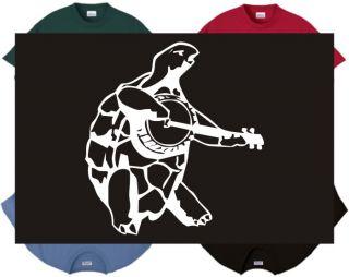 Shirt Tank Terrapin Turtle Music Guitar Jam Banjo