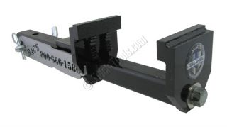 Mac's Trail D Vise Receiver Hitch Vise Clamp