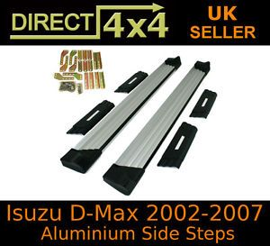 Isuzu D Max Rodeo Dmax 02 07 Side Steps Running Boards Side Bars Accessories