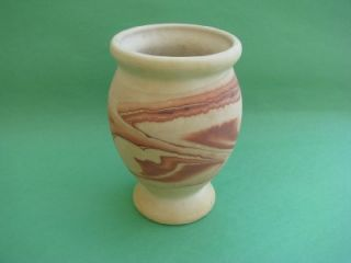 Nemadji Indian Clay Pottery Vase Hand Made Painted