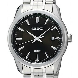 Seiko Quartz Mens Stainless Steel Watch SGEG05P1 SGEG05P SGEG05