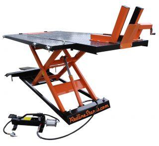 Redline Engineering 1500HD 1 500 lb Motorcycle ATV UTV Lifting Lift Table Jack