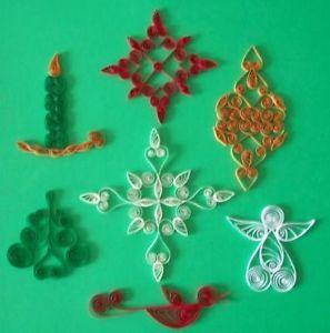Christmas Ornaments Quilling Kit 229