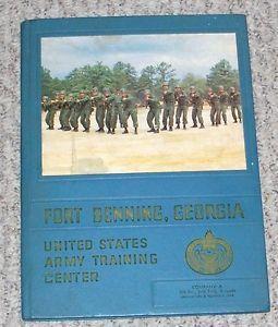 1968 Fort Benning GA US Army Training Center Yearbook