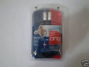 QED One Series Digital Audio Coax Cable 3 0 Meter New