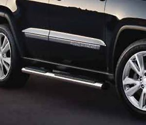 11 12 Jeep Grand Cherokee Chrome Side Steps Nerf Bars Running Boards Mopar