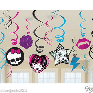 Monster High Party Decoration