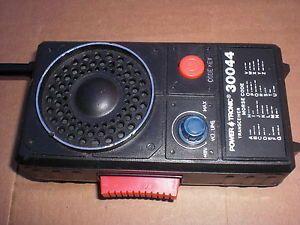 Vintage Walkie Talkie Communications Power Tronic Model 30044 Morse Code Key
