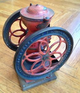 Pennsylvania Barn Fresh Enterprise Double Wheel Coffee Grinder Original 1873