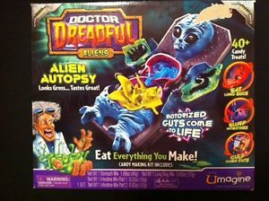 Doctor Dreadful Alien Autopsy