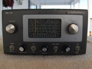 Hallicrafters s 53A Communications Receiver