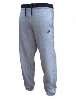 Nike Fleece Men's Training Joggers sweat Pants Tracksuit Bottoms Grey Navy 1826