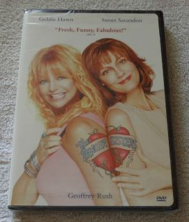 The Banger Sisters DVD Goldie Hawn Susan Sarandon New Sealed Mint
