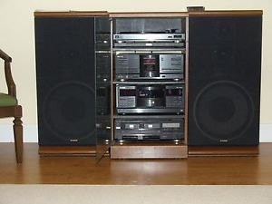 Vintage Fisher Component Stereo System