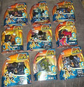 Lot of The Secret Saturdays Toys Cartoon Network Mattel New in Box