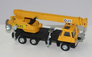 Dinky Toys 980 Coles Hydra 150 Ton Crane Truck Yellow