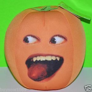 "Annoying Orange Plush Doll Med Size 12"" Comedy youtube Cartoon Talking Doll Tong"
