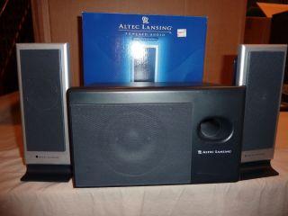Altec Lansing VS2121 Computer Speakers 021986940258