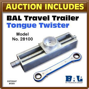 BAL RV Travel Trailer Tongue Twister Hitch Aligner New