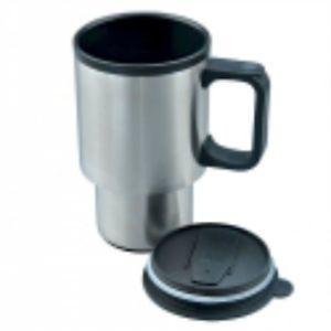 Stainless Steel Travel Mug 16 oz Coffee Cup Tumbler Tea Beverage Hot Drink Car