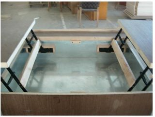 Colonial coffee table how to build plans slaw board for Lift top coffee table building plans