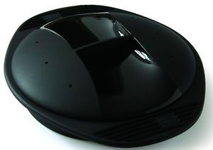 Mastrad Orka Silicone Round Steamer Cooker Microwave or Traditional Oven Black