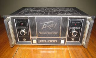 Peavey CS 800 Amp Amplifier Amp 800 Watt 2 Channel Commercial