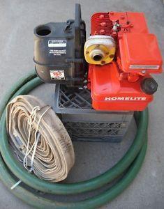 "Homelite AP520 2"" Semi Trash Pump Water Pump 5 HP Briggs Stratton"