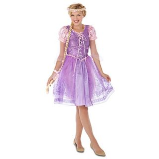 Adult Rapunzel 12 14 L Costume Dress 2011 Tangled NWT Disney Store