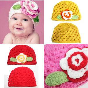 Cute Baby Girls' Infant Boy Knitted Hat Cap Photography Costume Handband Wear