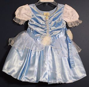 New Disney Store Cinderella Costume Dress Infant Toddler 12 18 Months