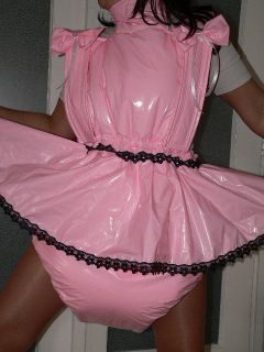 B1 Adult Baby PVC Dress Thick Diaper Spreading Trouser Padded Diaper Nice