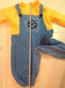 Minion Despicable Me 2 Toddler Size 2T 4T Halloween Costume Boy Girl Dave