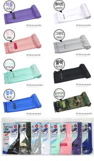 New 1pair Arm Sleeves Cooling UV Sun Protect Golf Cycling Basketball Gurd 5Color