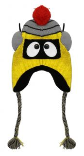 Yo Gabba Gabba Plex Face Cartoon Adult Pilot Laplander Hat