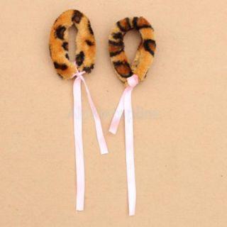 New Animal Long Tail Cosplay Christmas Halloween Costume Accessory Tiger Print