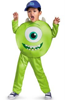 Monsters Inc University Mike Wazowski Classic Toddler Costume