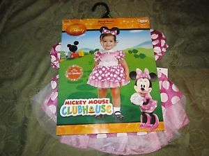... Disguise Infant Baby Minnie Mouse Costume Dress Outfit Headband 12 18 Months ...  sc 1 st  PopScreen & Disney Baby Minnie Mouse Costume Dress Sz 12 18 Mos