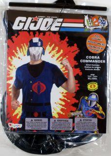 Adult Mens G.I. Joe COBRA COMMANDER Easy Costume NEW XL/XXL  cartoon 24669C