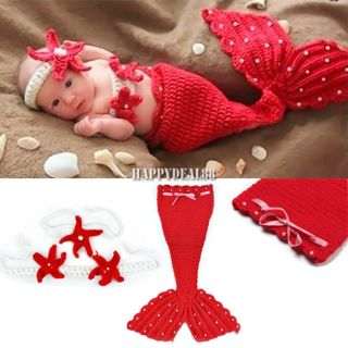 Newborn Baby Girl Boy Crochet Knit Hat Cap Costume Photography Prop Outfit HD23L
