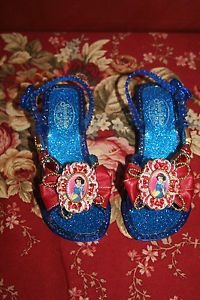 Disney Snow White Toddler Light Up Dress Up Shoes for Costume Size 9 10 9 10