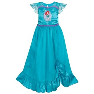 2011 Ariel Deluxe Little Mermaid Princess Night Gown NWT
