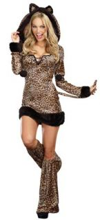 Womens Medium 6 10 Cheetah Luscious Sexy Costume Sexy Costumes