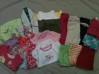 Huge Toddler Girl Clothes Lot BabyGap Carters Old Navy Size 24 MO 2T