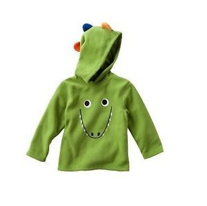 New Baby Boy Winther Clothes Monkey Tiger Dino Puppy Monster Hoodie Jacket 12 24