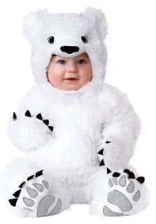 Animal Planet Polar Bear Infant Costume