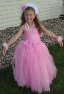 Hello Kitty Tutu Dress Halloween Costume Dress Up 12345