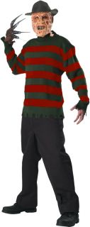 Nightmare on Elm Street Freddy Krueger Sweater Adult Mens Costume Halloween