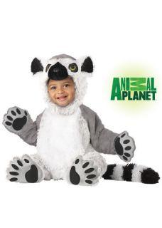Brand New Animal Planet Lemur Infant Halloween Costume