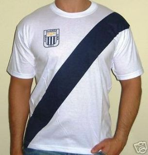 Alianza Lima T Shirt Peru Soccer Team Large Men's Futbol Peruano Sports Fan